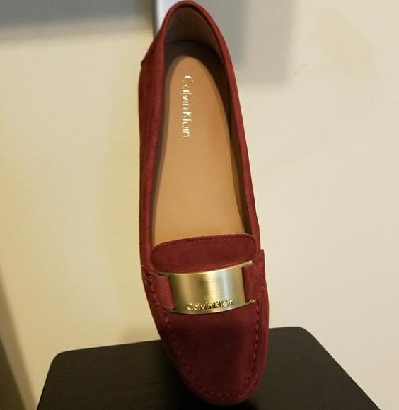 04ada95dcde Calvin Klein Shoes - Calvin Klein Lisette Suede Flats